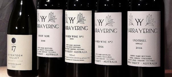Yarra Yering wines